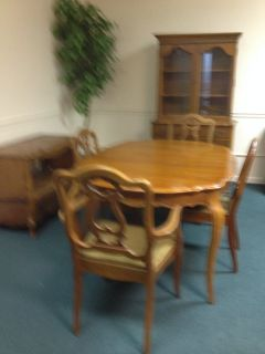 Dining Room Set (Table, 6 Chairs. China Cabinet, Buffet)