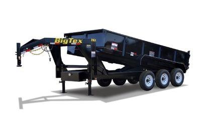 Big Tex Triple Axle Extra Wide Gooseneck Dump