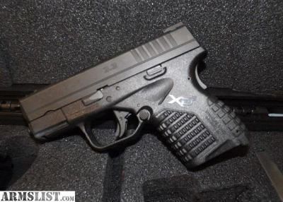 For Sale: Springfield XD-S 45 ACP