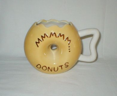 Frosted Donut Shaped Coffee Mug - BigMouth, Inc - Ceramic