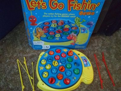 Let's go Fish game
