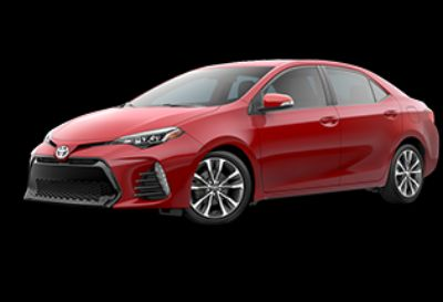 2019 Toyota Corolla L (Barcelona Red Metallic)