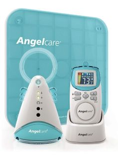 Angelcare AC401 Baby Breathing Movement and Audio Monitor with Wired Sensor Pad
