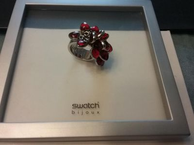 Swatch Bijoux, Stainless Steel Ring- Love Explosion