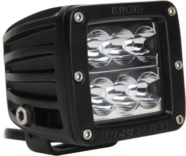 Purchase Rigid 50112 - D-Series; Dually D2; Wide LED Light; Amber; Single; 6 LEDs motorcycle in La Grange, Kentucky, US, for US $189.99