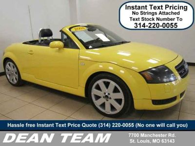 2004 Audi TT 2dr Roadster quattro Manual