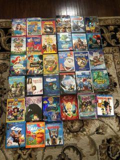 Kids DVDs - price for each
