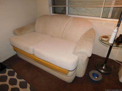 Cough & Love Chair / Queen Size Mattress