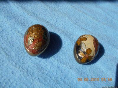 Solid Brass Decorative Eggs