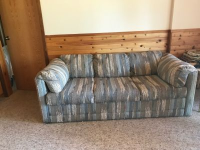Sleeper sofa couch barely used