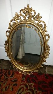 Home Interior Gold Mirror