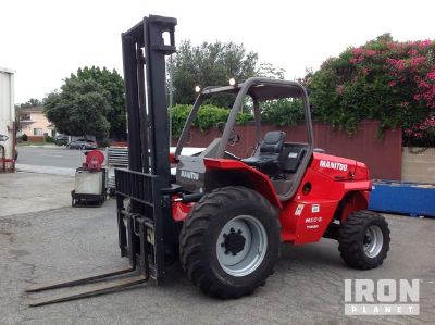 2012 Manitou M30-2T Rough Terrain Forklift