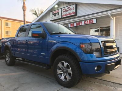 2013 Ford F-150 King Ranch (Blue Flame Metallic)