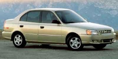 2002 Hyundai Accent GL (White)