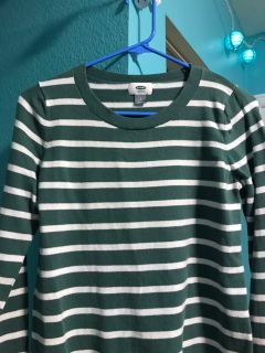 Women s size S striped top