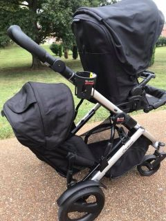 Britax B-Ready Stroller and 2nd seat