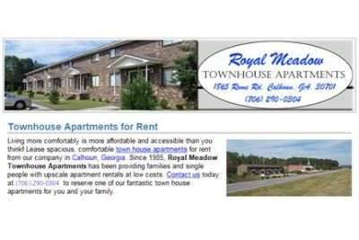 Royal Meadow Townhouse Apartments