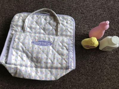 Bitty Baby Diaper Bag With Changing Pad.