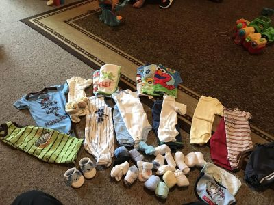 Boys baby lot sizes 0/3 up to 9 months