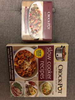Crock Pot recipe book and card collection