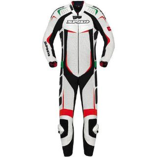 Purchase Spidi Track Wind Pro Leather 1-pcTracksuit White/Italy motorcycle in Holland, Michigan, US, for US $1,299.95