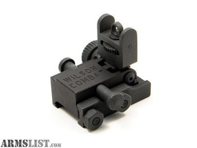 For Sale: Wilson Combat folding rear AR sight