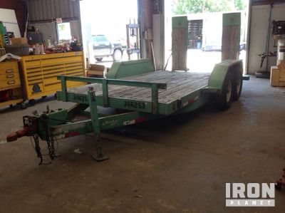 2011 (unverified) Anderson LH7145TL T/A Equipment Trailer