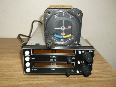 Purchase TKM MX12 Nav Comm radio with indicator and tray motorcycle in Deer Park, Washington, United States
