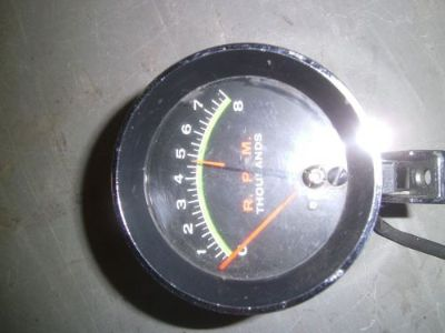 "Sell 3"" Green Line Tachometer vintage restoration hot rat rod motorcycle in Joliet, Illinois, United States, for US $104.95"