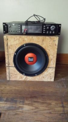 Stereo and subwoofer