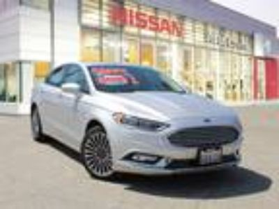 Used 2018 Ford Fusion SILVER METALLIC, 34.3K miles