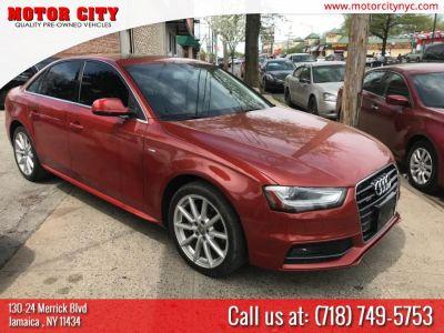 2014 Audi A4 2.0T quattro Premium Plus (Red)