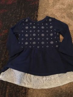 Cherokee 6-9m navy ls dress - ppu (near old chemstrand & 29) or PU @ the Marcus Pointe Thrift Store (on W st)