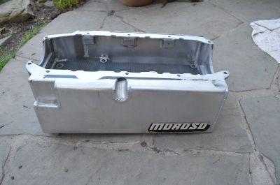 Moroso 8qt SBC Aluminum Oil Pan Mdl 21235