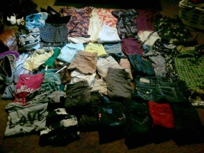 Over 20 pairs of pants
