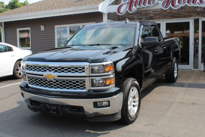 "2015 Chevrolet Silverado 1500 4WD Double Cab 143.5"" LT w/1LT (Black)"