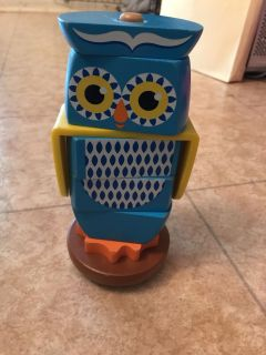 Owl stacking block puzzle