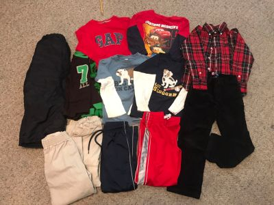 Sz 5 lot includes snow pants