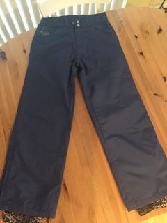 Women s Roxy snow pants size small navy color
