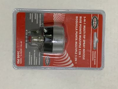 SIMPSON Cleaning 5-N-1 Nozzle 3600 PSI