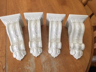 Sconces to hang rod and or drapes