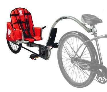Wee-hoo Turbo Bike Trailer, for kids, let them bike with you!