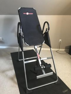 The inversion table