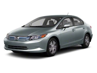 2012 Honda Civic Hybrid w/Leather w/Navi (Silver)