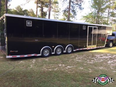 2014 inTech 42' Gooseneck Race Trailer