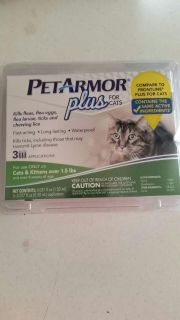 Brand new Per Armor Plus for Cats