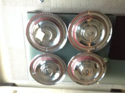 Sell CORVETTE 1953-1955 WHEELS HUB CAPS motorcycle in Spring, Texas, United States, for US $3,700.00
