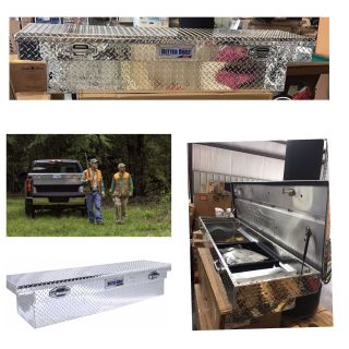"""Better Built 70"""" SEC Crossover Low Profile Truck Tool Box 79011003"""
