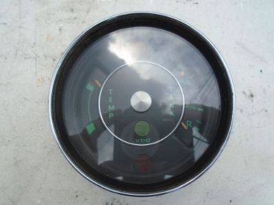 Purchase PORSCHE 901 911 912 OIL GAS FUEL TEMPERATURE GAUGE TEMP TANK 90274150101 GREEN F motorcycle in Los Angeles, California, United States, for US $465.00
