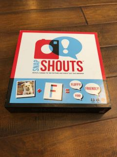 Board Game: Snap Shouts!